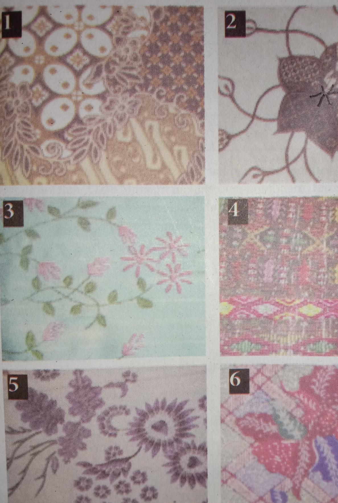 Ragam Hias Pada Bahan Tekstil Kita