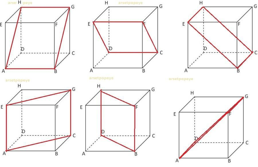 Banyak Bidang Diagonal Pada Kubus Brainly Co Id