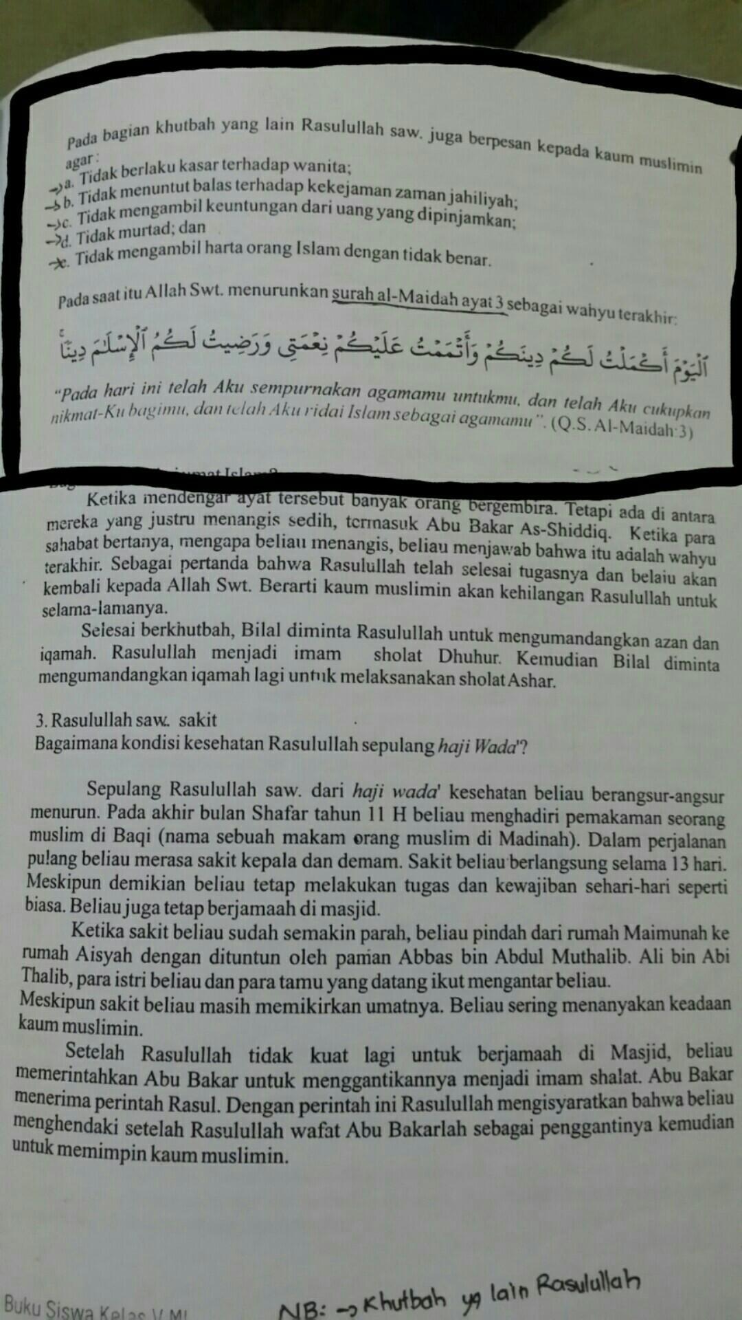 Cari Dan Bacalah Kisah Nabi Muhammad Saw Dalam Mengerjakan