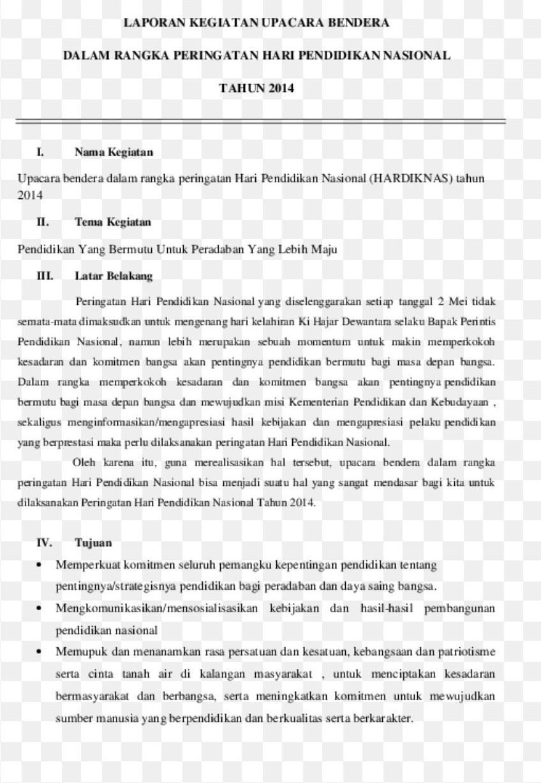 Contoh Laporan Kegiatan Dalam Bahasa Sunda Brainly Co Id