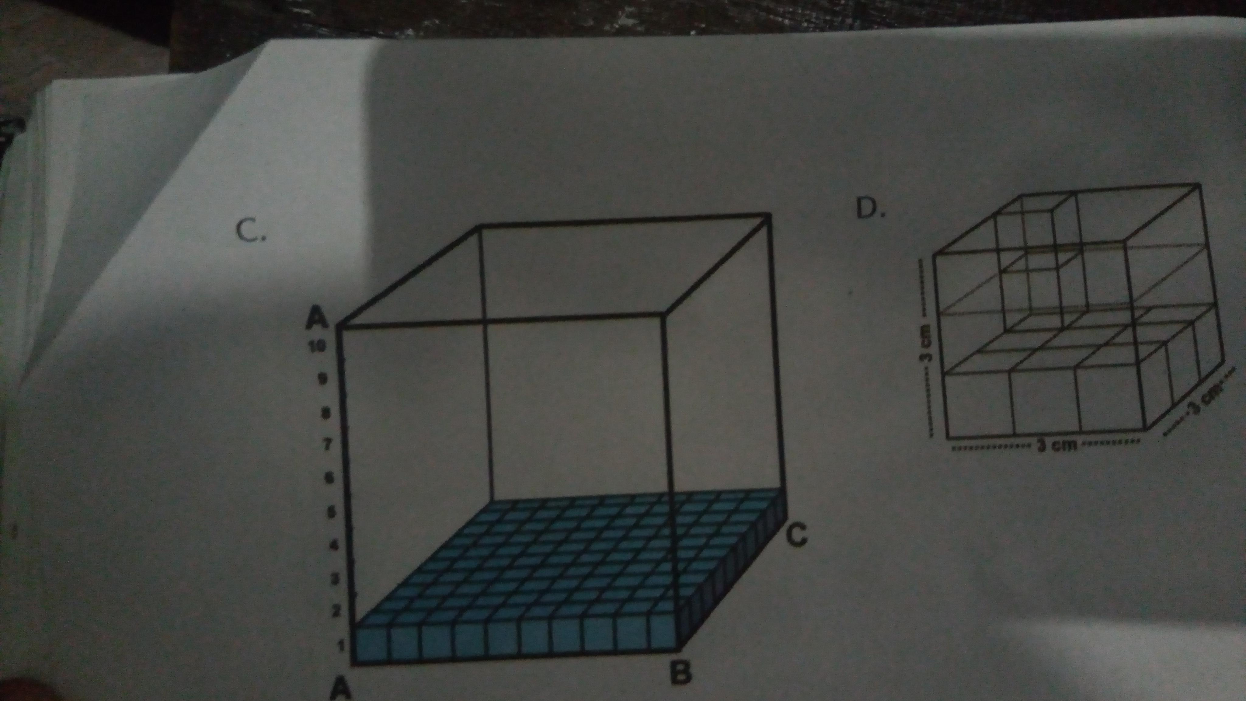 Hitunglah volume kubus pada gambar berikut! - Brainly.co.id