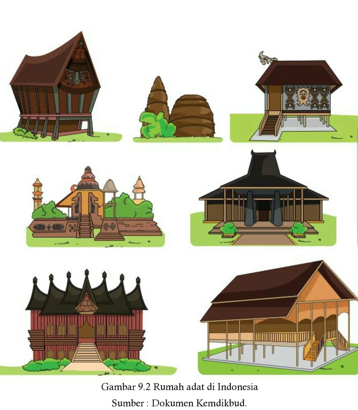 880 Gambar Rumah Adat Dan Nama Asalnya Gratis Gambar