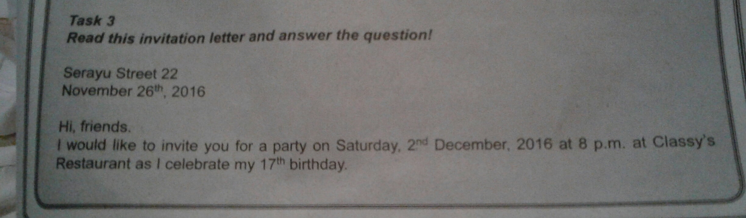 Please answer soal invitation card brainly soal invitation card unduh jpg stopboris Images