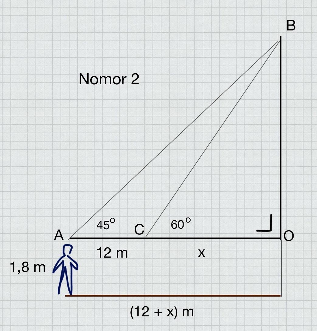 Contoh Soal Cerita Trigonometri Brainly Co Id