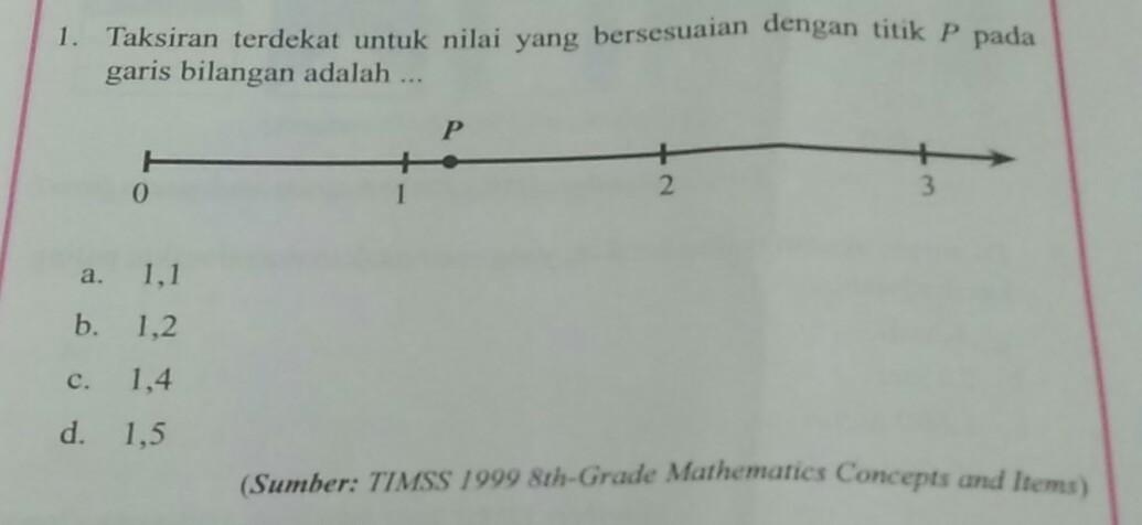 Taksiran terdekat untuk nilai yang bersesuaian dengan titik p pada taksiran terdekat untuk nilai yang bersesuaian dengan titik p pada garis bilangan adalah ccuart Gallery