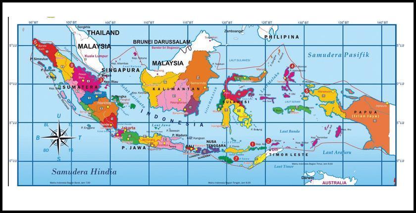 Batas Wilayah Indonesia Bagian Selatan Brainly Co Id