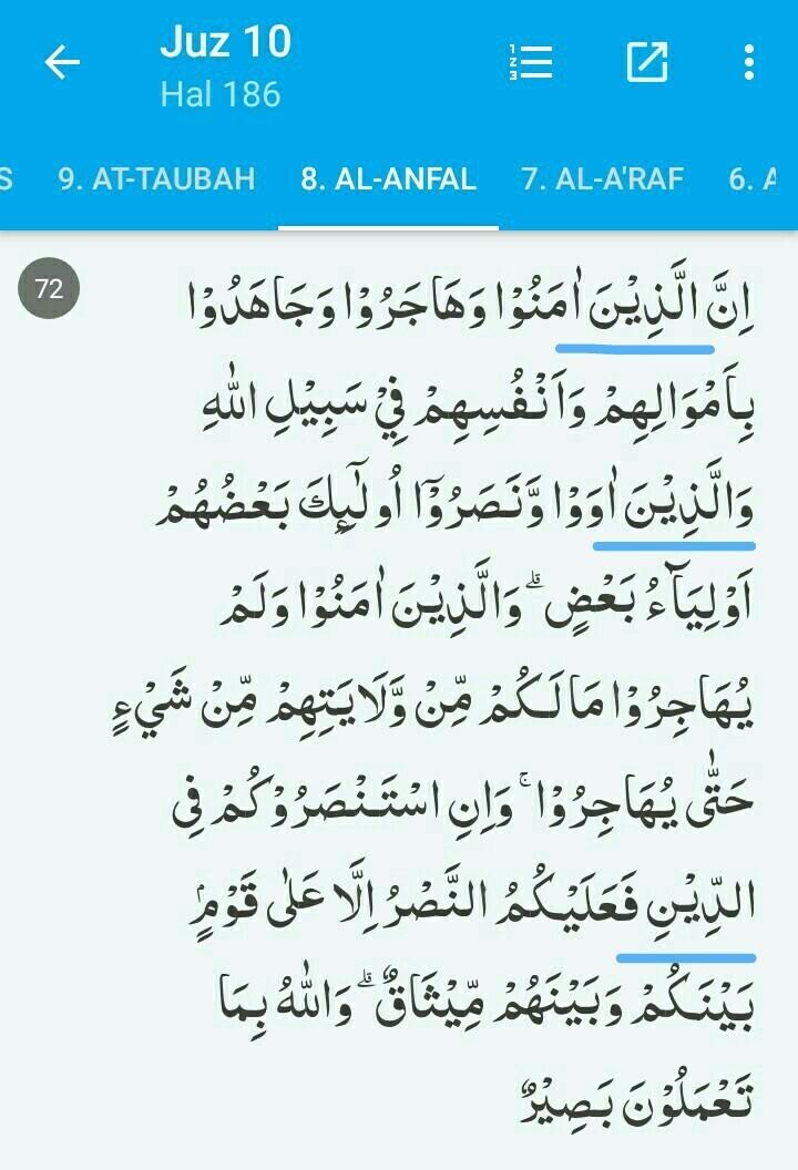 tuliskan dua lafal yg mengandung hukum bacaan alif lam ...