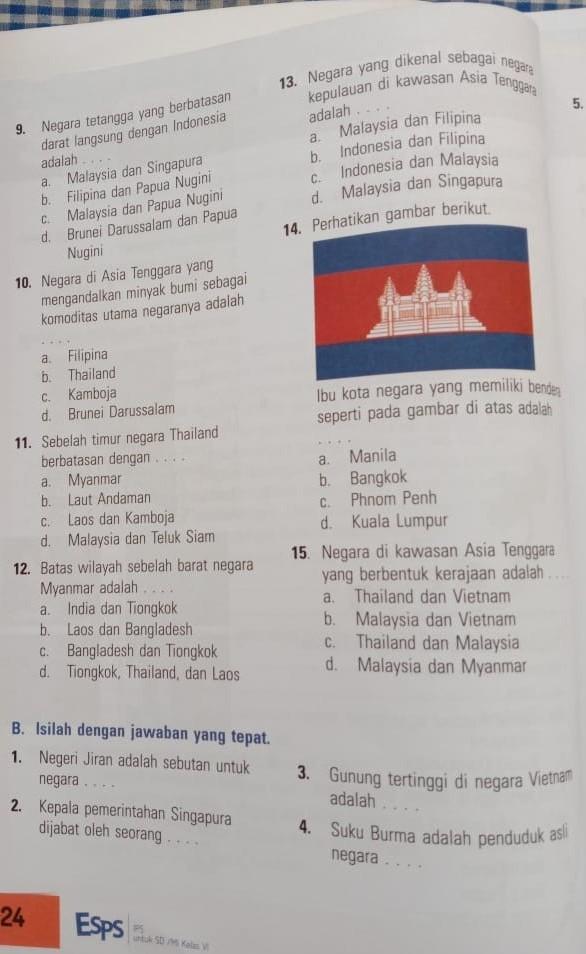 Gunung Tertinggi Di Malaysia Adalah Brainly