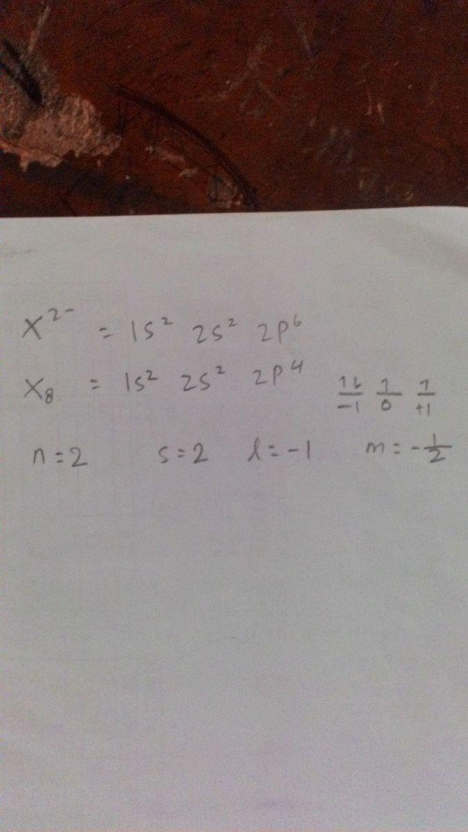 ion X2- memiliki konfigurasi elektron 1s2,2s2,2p6 ...