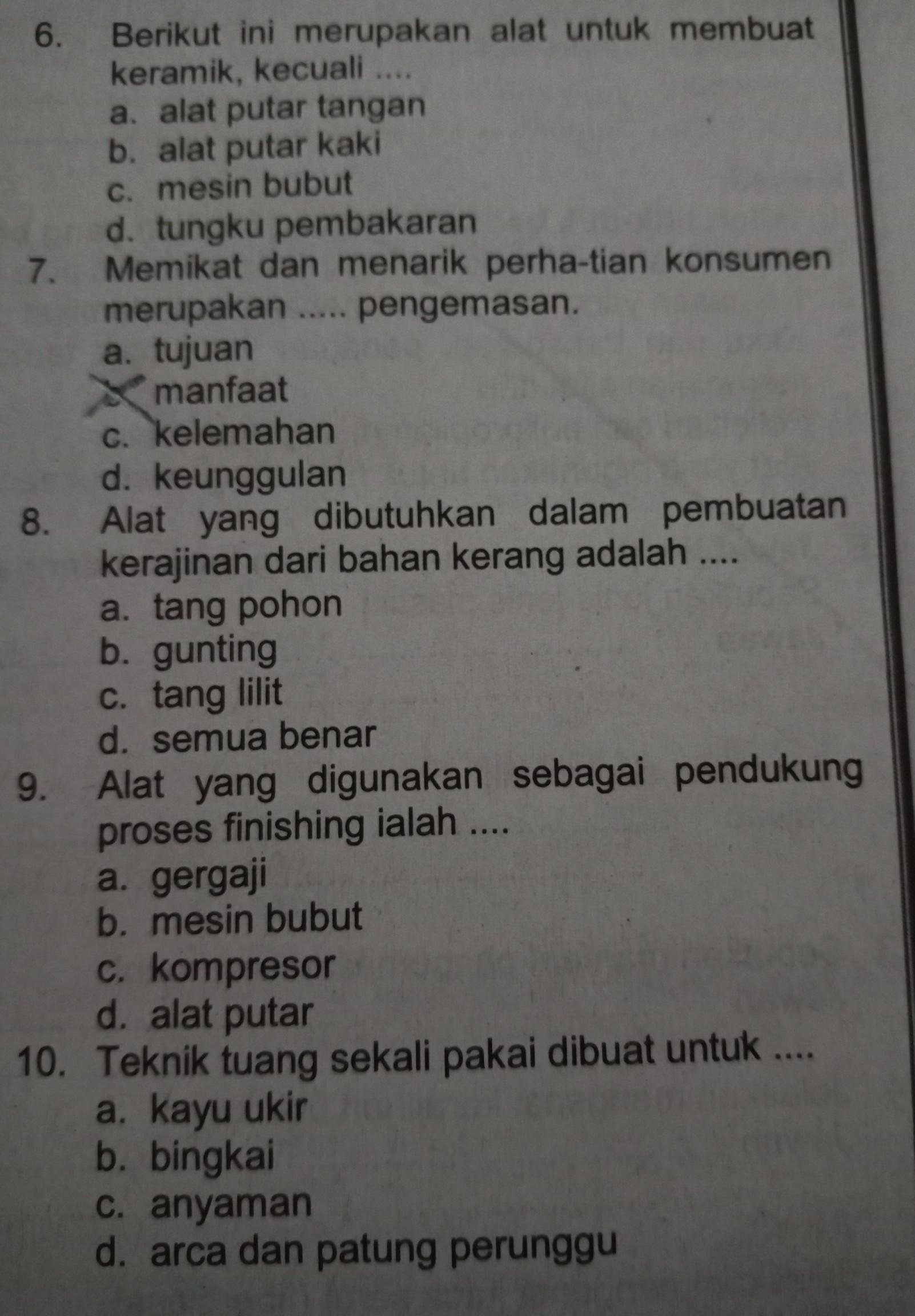 Kunci Jawaban Prakarya Kelas 8 Kurikulum 2013 - Guru Ilmu ...