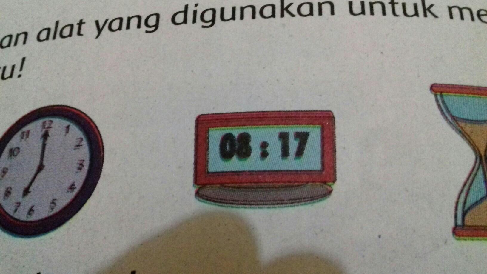 apakah perbedaan dan persamaan antara ketiga jenis jam ...