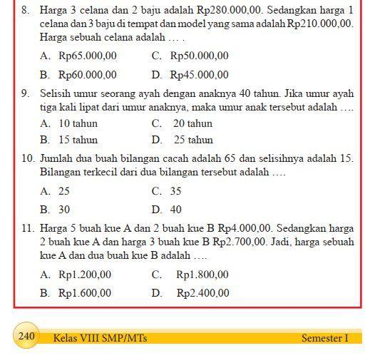 Jawaban Tugas Bahasa Indonesia Kelas 10 Halaman 239 ...
