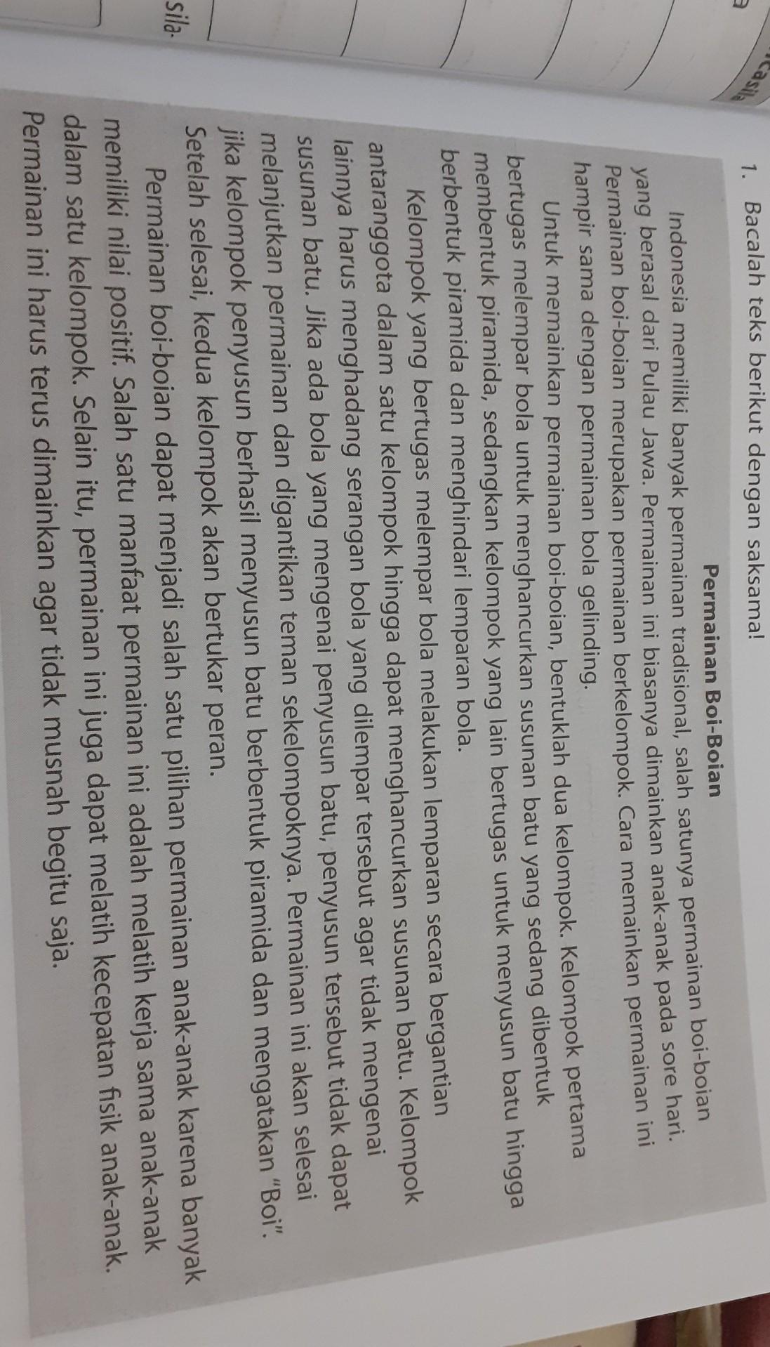Judul Teks Ide Pokok Paragraf 1 Ide Pokok Paragraf 2 Ide Pokok Paragraf 3 Ide Pokok Brainly Co Id