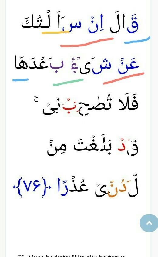 Hukum Bacaannya Dan Tajwid Surah Al Kahfi Ayat 75 Brainly