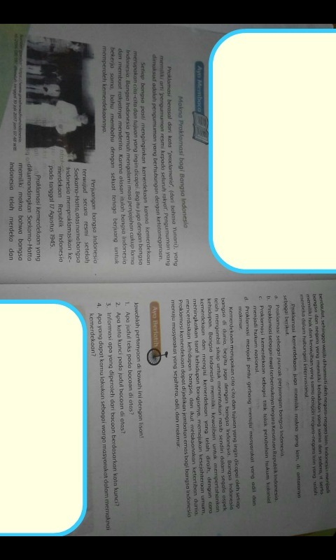 Tlng di jwb soalnyayg ayo berlatih 1-4 bacaan ny yg ayo membaca -  Brainly.co.id