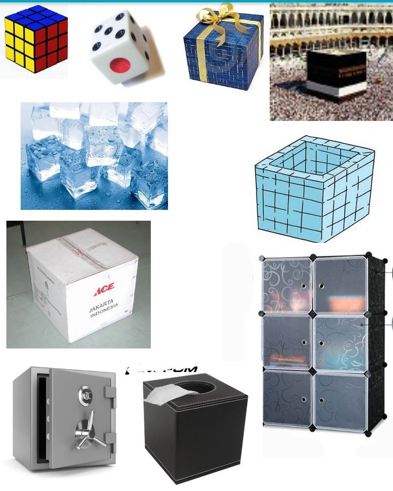 10 Benda Yang Berbentuk Kubus Matematika Brainlycoid