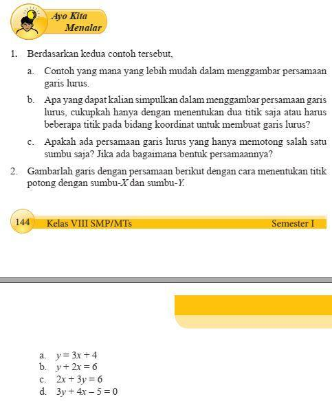 Uji Kompetensi Sbk Kelas 8 Hal 144 Guru Ilmu Sosial