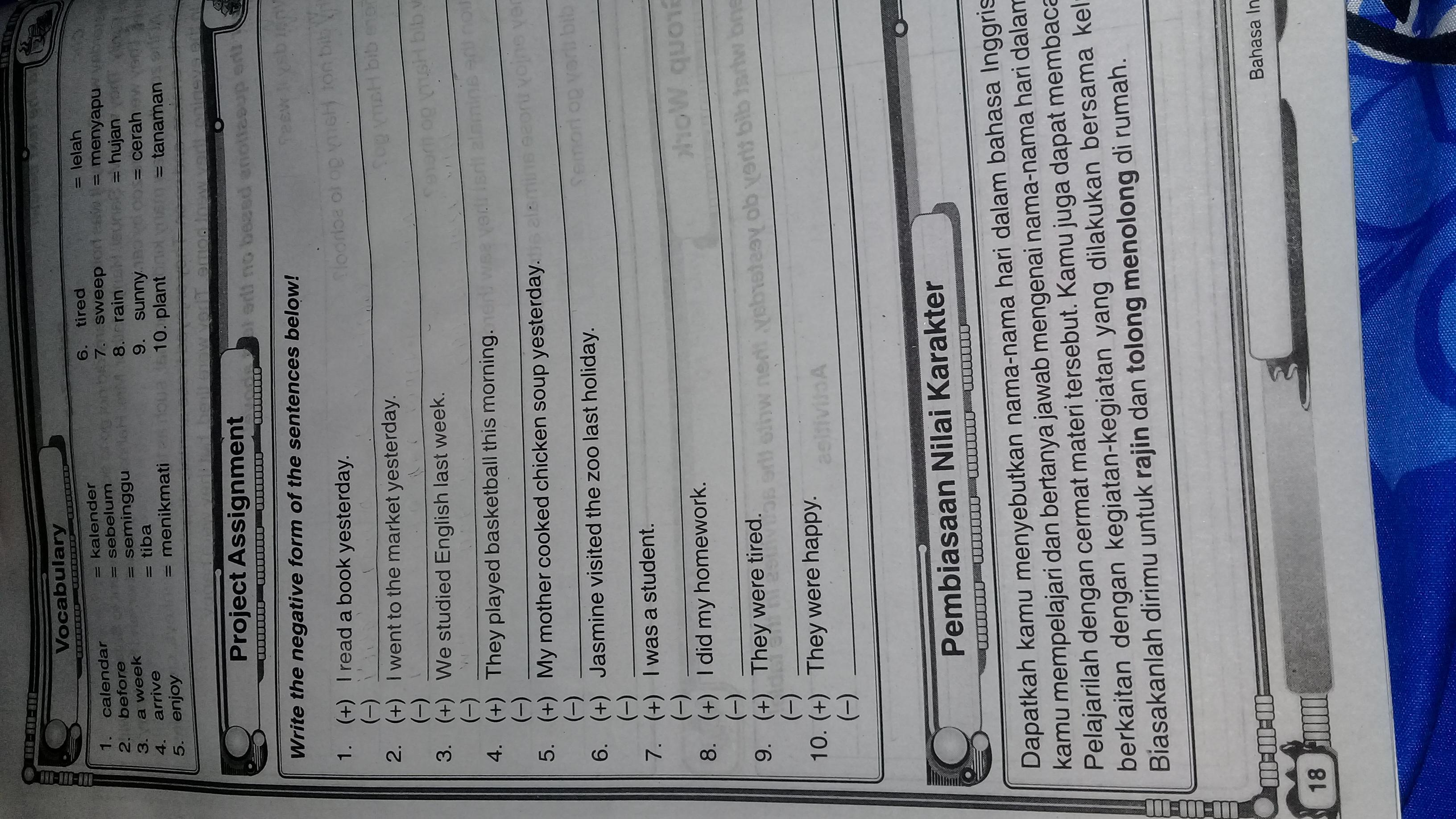 Kunci Jawaban Lks Bahasa Inggris Kelas 5 Hal 18 Brainly Co Id