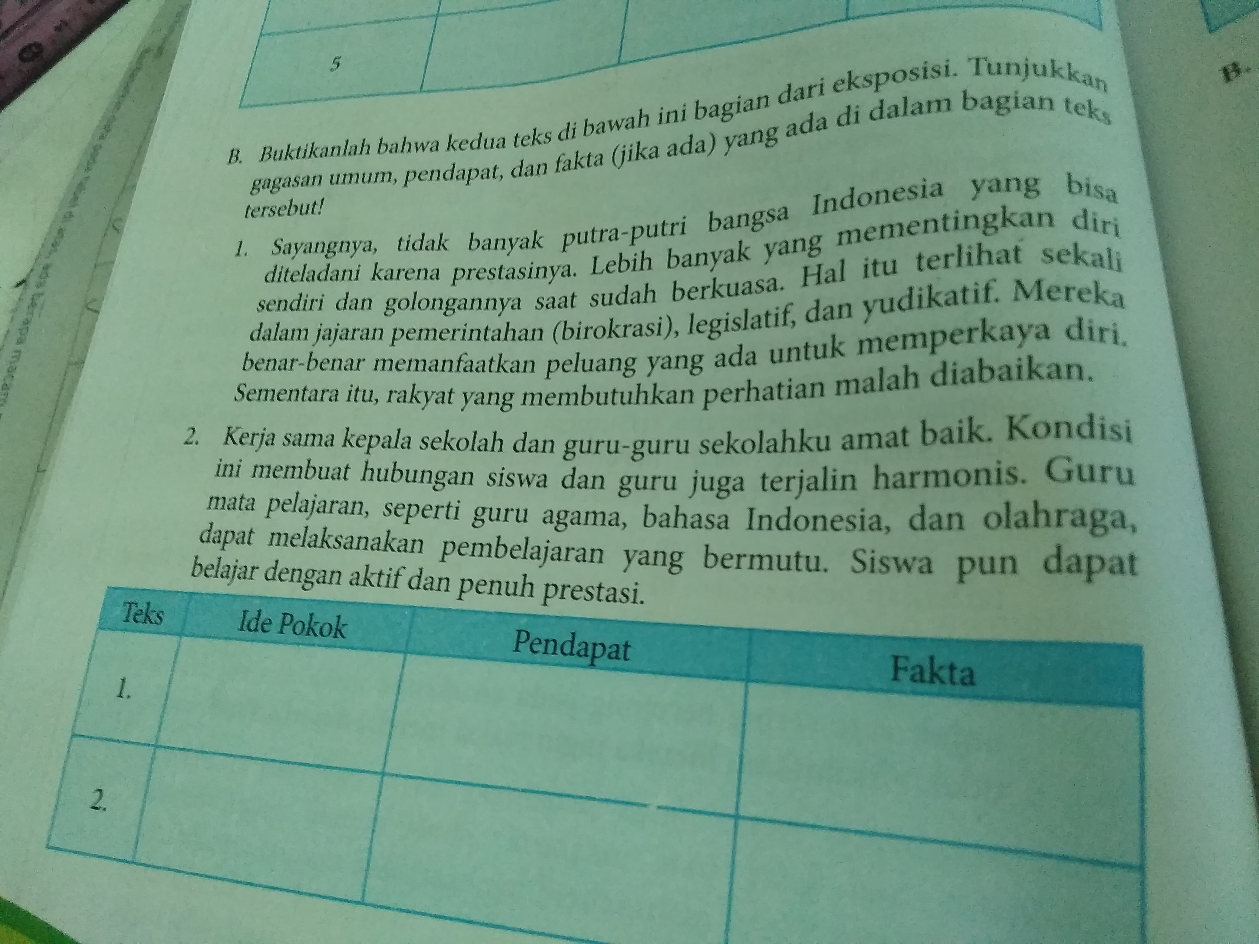 Kegiatan 3 2 B Bahasa Indonesia Kelas 8 Tolong Dijawab Ya Brainly
