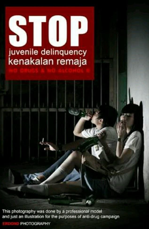 Contoh Gambar Iklan Kenakalan Remaja Brainly Co Id