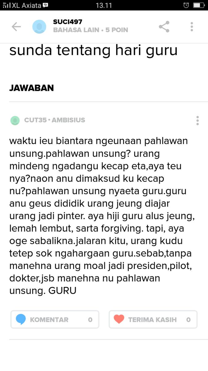 Puisi Bahasa Sunda Tentang Hari Guru Brad Erva Doce Info