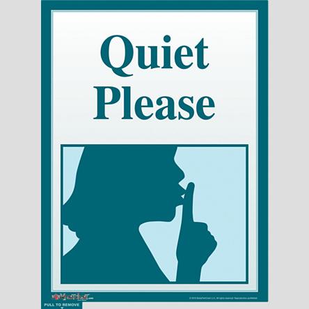contoh dari notice atau warning di perpustakaan :) Tolong ...