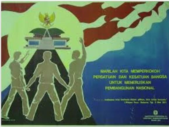 Poster Tenteng Manfaat Nilai Persatuan Dan Kesatuan Brainly Co Id