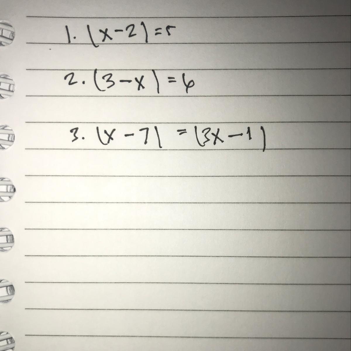 Tentukan Nilai X Yang Memenuhi Persamaan Nilai Mutlak Berikut Ini Brainly Co Id