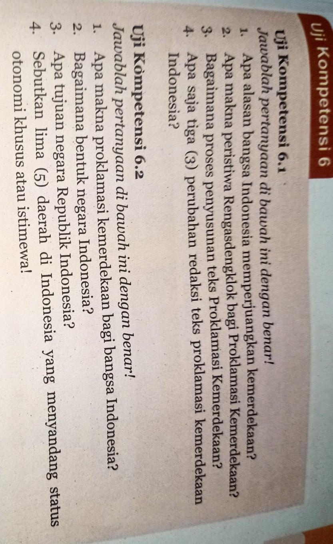 Ujian Kompetensi 6 3jawablah Pertanyaan Di Bawah Ini Dengan Benar 1 Sebutkan Pasal Pasal Brainly Co Id