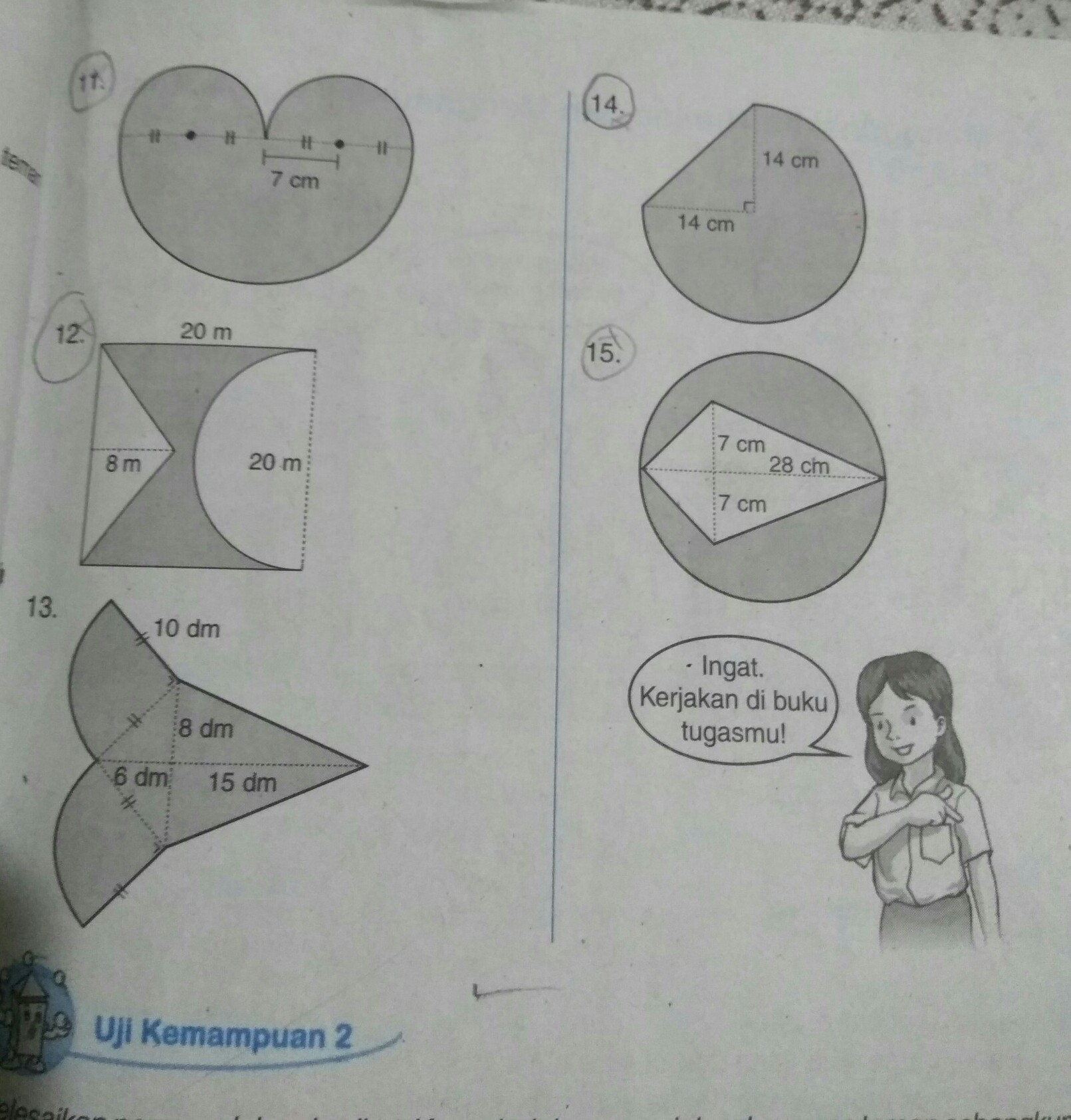 Kunci Jawaban Gemar Matematika Kelas 6 Hal 57 Sanjau Soal Latihan Anak