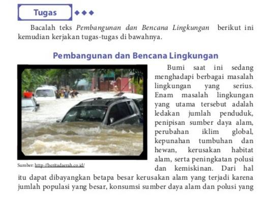 Adjektiva Dan Frasa Adjektiva Pada Teks Pembangunan Dan Bencana