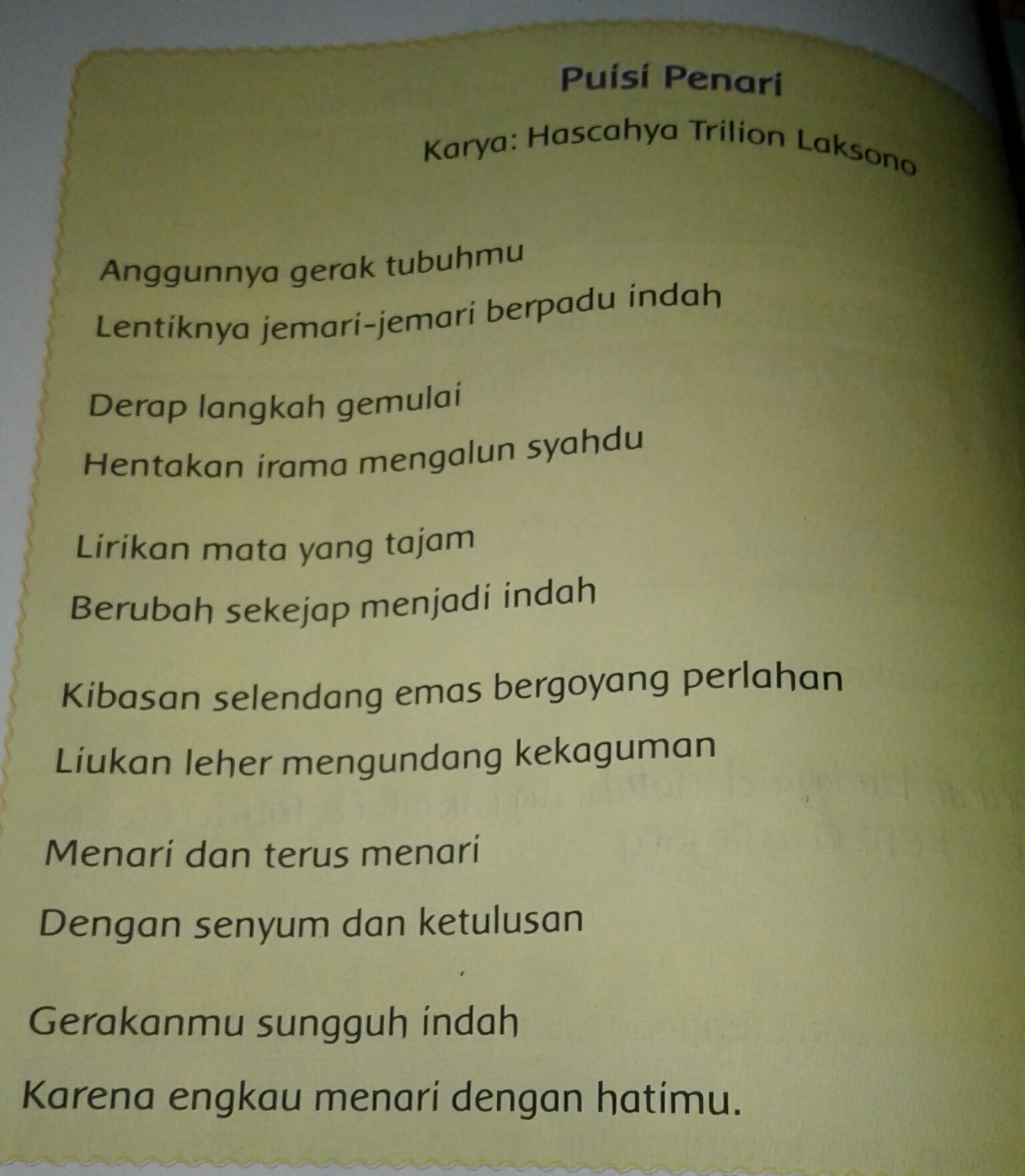 Puisi Guru Singkat 1 Bait - Kumpulan Puisi Nusantara