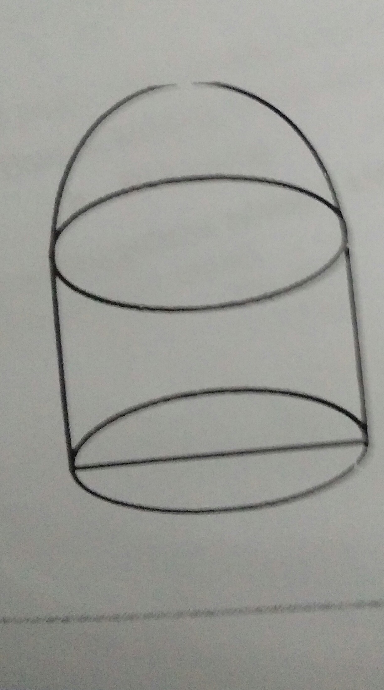 Diketahui sebuah benda gabungan tabung dan setengah bola ...