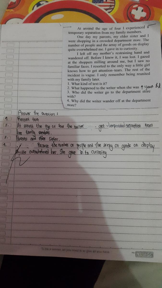 Contoh Recount Text Beserta 10 Jawaban Dan 10 Soal Brainly Co Id