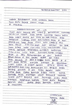 Buatin Surat Untuk Guru Brainlycoid