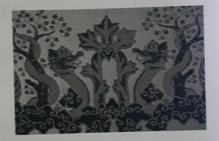 motif ragam hias pada gambar diatas adalah ragam hias ...