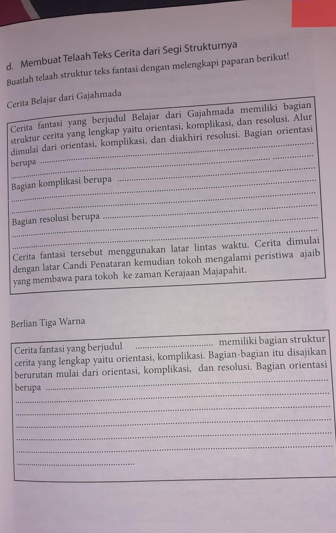 Jawaban Buku Paket Kelas 7 Bahasa Indonesia Hal 67 Brainly Co Id