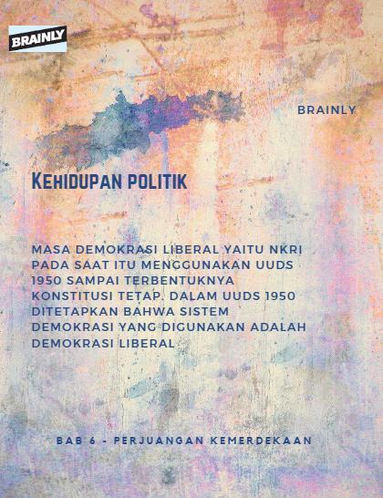 Jelaskan Perbedaan Antara Kehidupan Politik Dan Ekonomi Pada Masa Demokrasi Liberal Dan Demokrasi Brainly Co Id