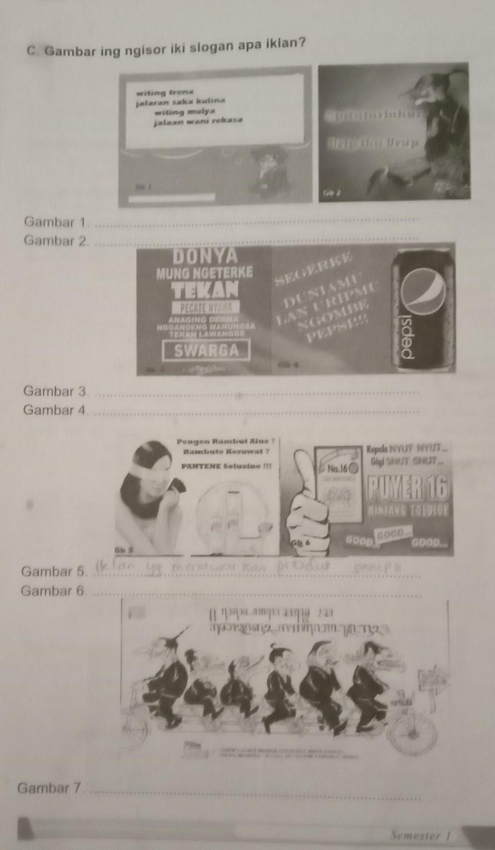 Kunci Jawaban Bahasa Jawa Kelas 6 Semester 1 Halaman 17 Ada Yg Mau Jawab Gak Si Brainly Co Id