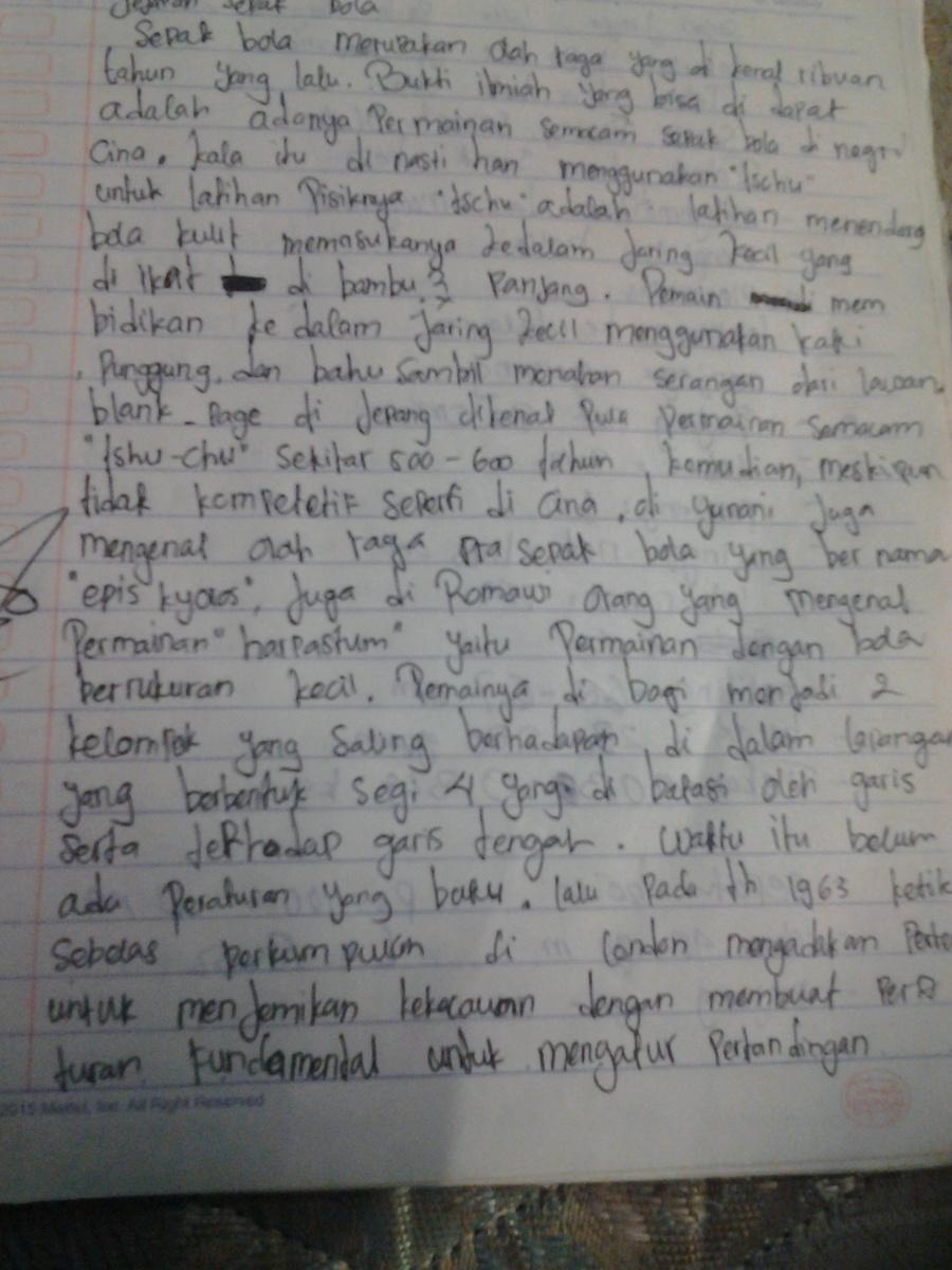 Jelaskan Pengertian Dan Asal Usul Sepak Bola Di Indonesia Brainly Co Id