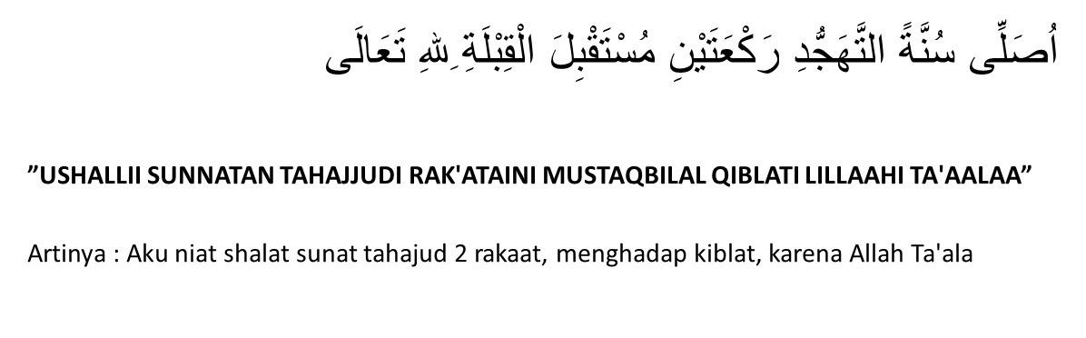 1 Sebutkan Tiga Macam Shalat Sunnah Yang Dilaksanakan