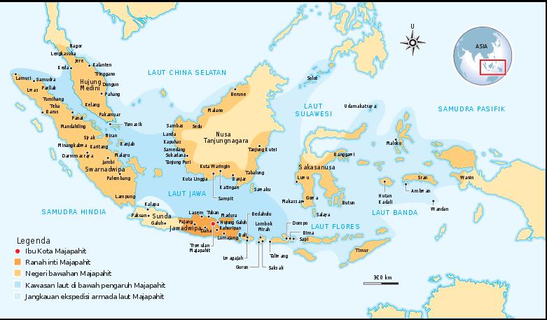 Peta Kerajaan Islam Di Indonesia Brainly Co Id