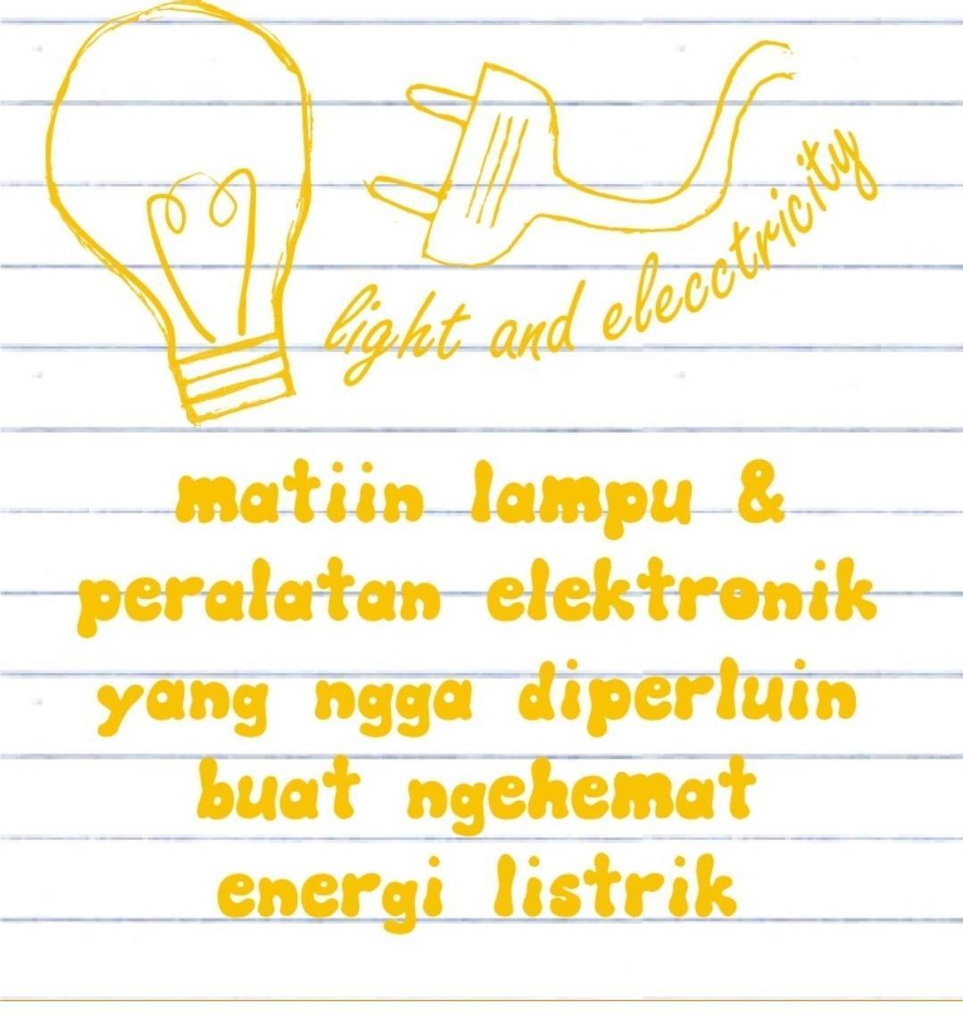 Sekarang Buatlah Poster Tentang Hemat Listrik Poster Harus Berisi Hak Untukmendapatkan Energi Brainly Co Id