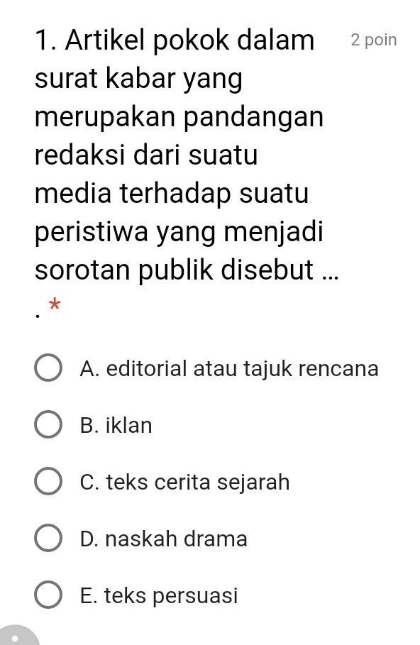 Pantun Berbalas Brainly Bahasa Indonesia Kelas 40 SMA Teks EditorialJawab Ya No40 Jangan 388034