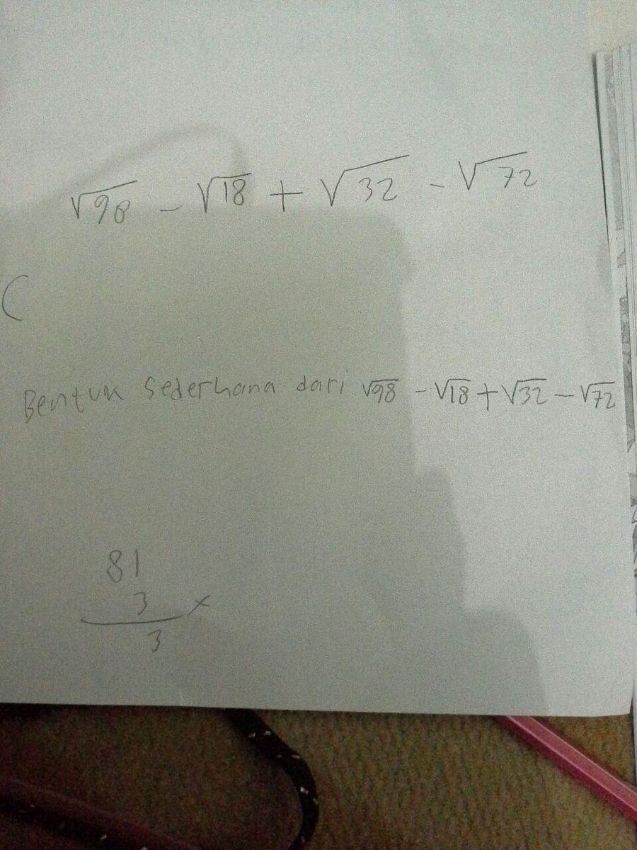 Matematika Kelas 10 Sma Jenius Jawab Ini Yajawab Ya Soal