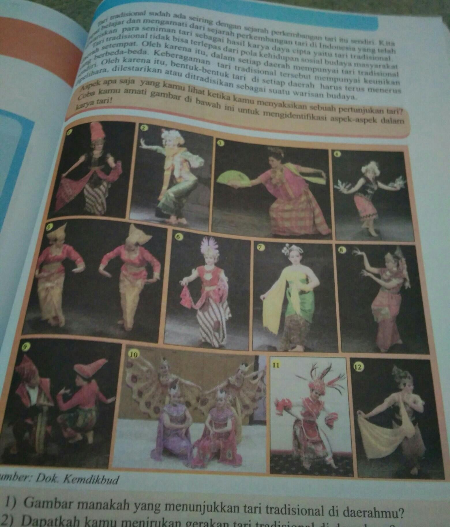 Seni Budaya Kelas 8 K13 Hal 177 Tolong Sebutkan Nama Tarian Beserta Asalnya Brainly Co Id