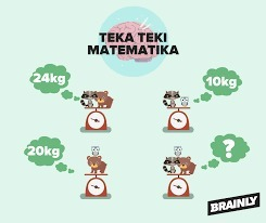 Kuis Teka Teki Matematika Barhadiah 5 Poin 3 Poin Jika Jawabannya Paling Benar Dan Lengkap Brainly Co Id