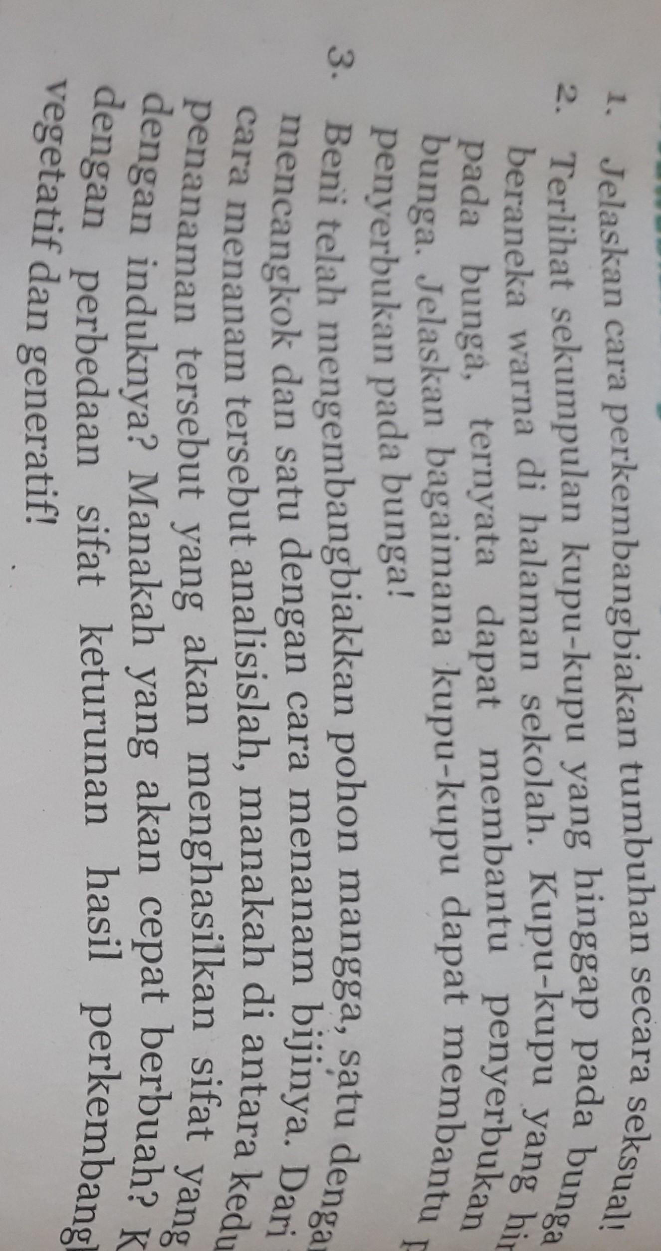 Jawaban Ipa Kelas 9 Bab2 Halaman 114 Sampai 115 Brainly Co Id