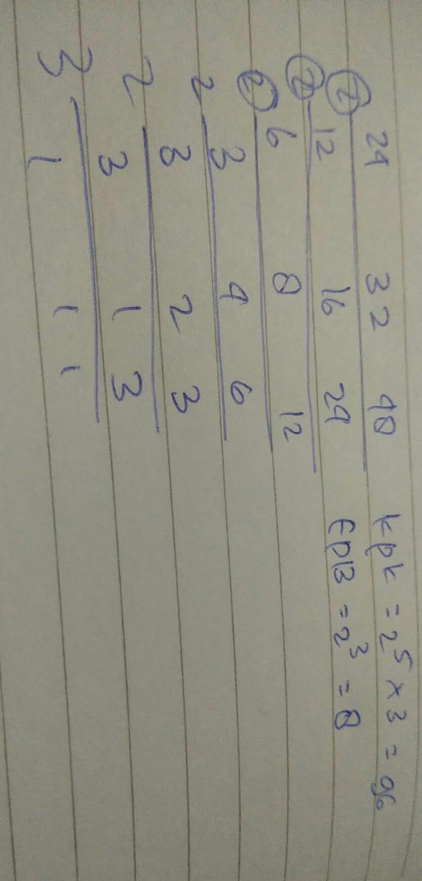 KPK dan FPB dari 24,32,dan 48 adalah - Brainly.co.id