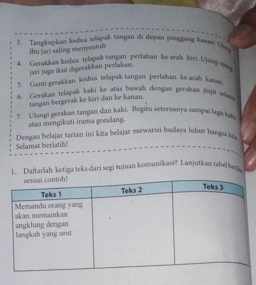 Kunci Jawaban Bahasa Indonesia Kelas 7 Halaman 86 Sampai 88 Brainly Co Id